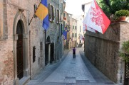 Flags in Montone
