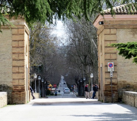 Gate at Bevagna