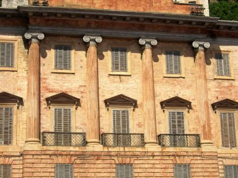 Gubbio facade