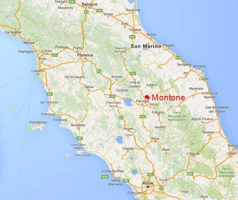 Map to Bacciana 3