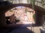 Perugia Aqueduct in summer