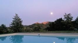 Pool twilight