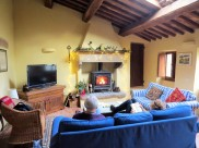 Winter in the sitting room