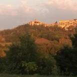 Montone from Casa Bacciana garden