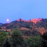 Montone with moon